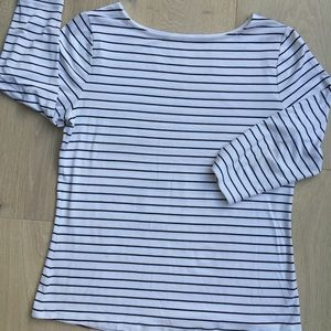 A New Day black and white stripe shirt